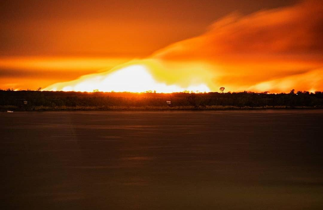 humedales delta incendios