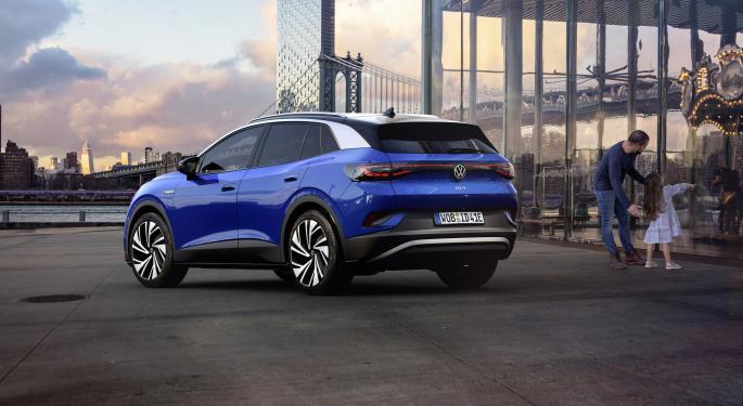 Volkswagen suv eléctrico