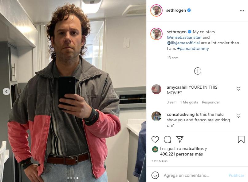 Seth Rogen sin barba