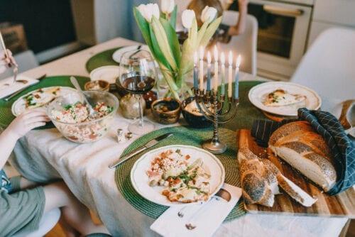 comidas judías