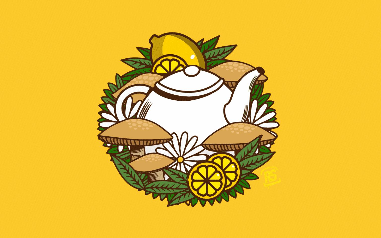 té de hongos