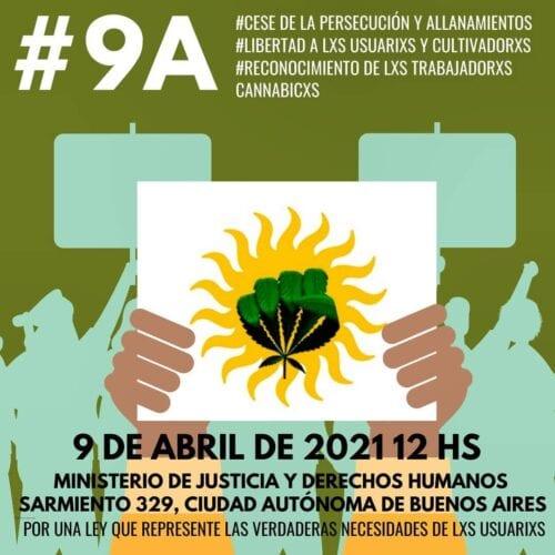 marcha cannabis argentina