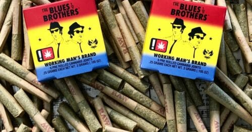 porros pre-armados de cannabis