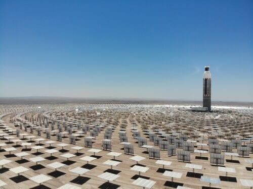 energía renovable en chile cerro dominador planta termosolar