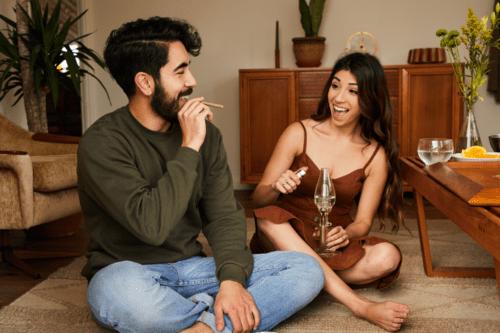 jóvenes marihuana