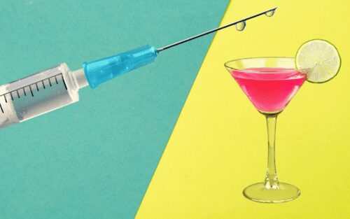 alcohol vacuna covid