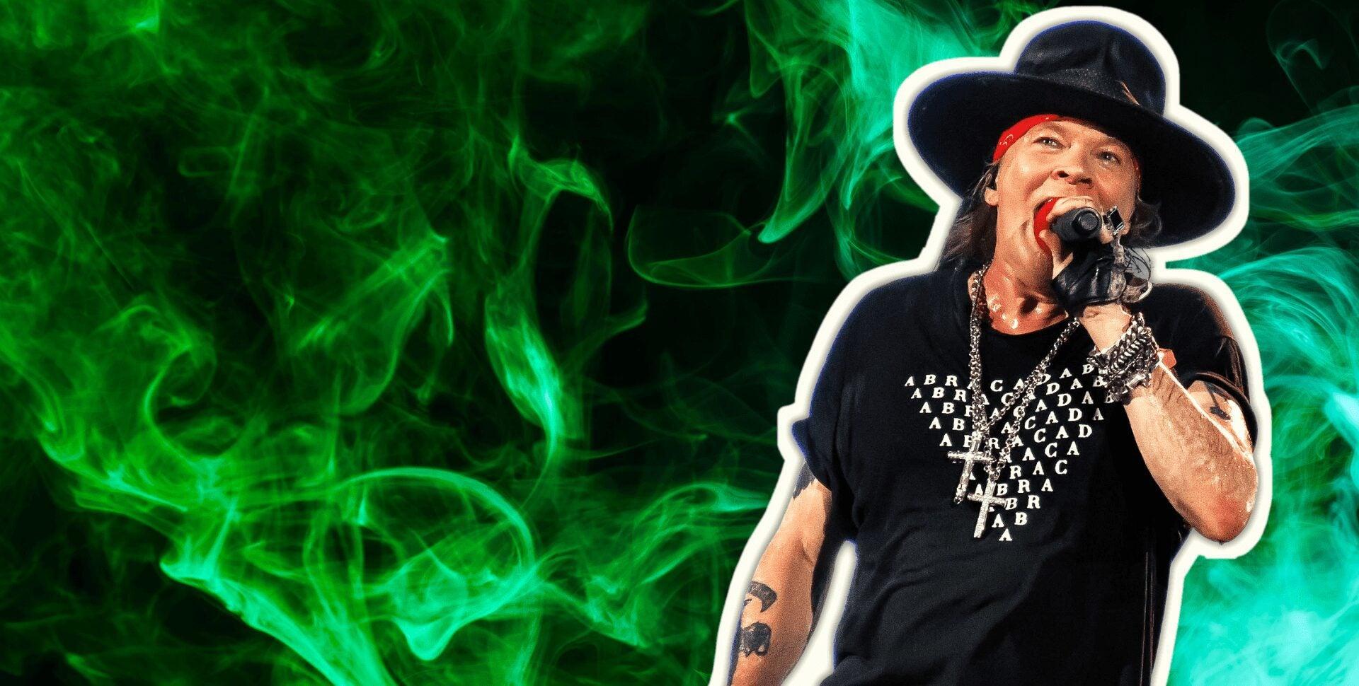 guns n roses marihuana
