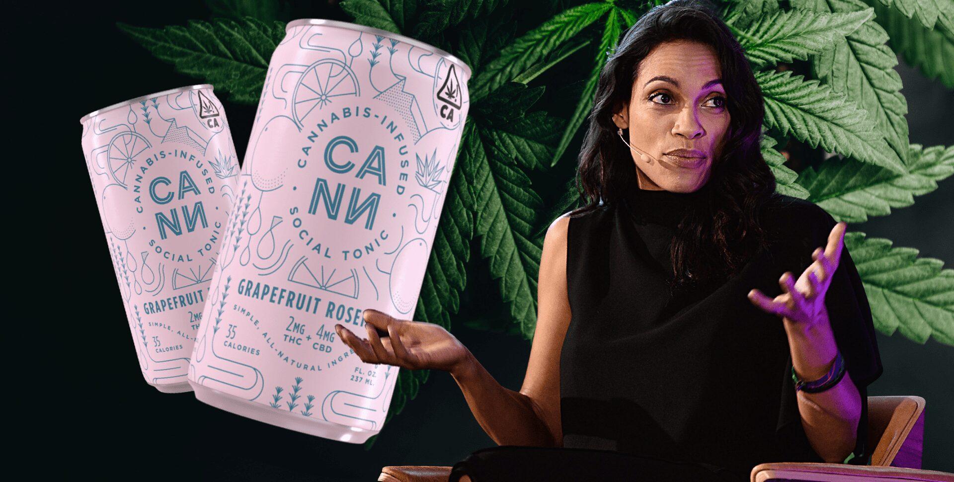 rosario dawson cannabis cann
