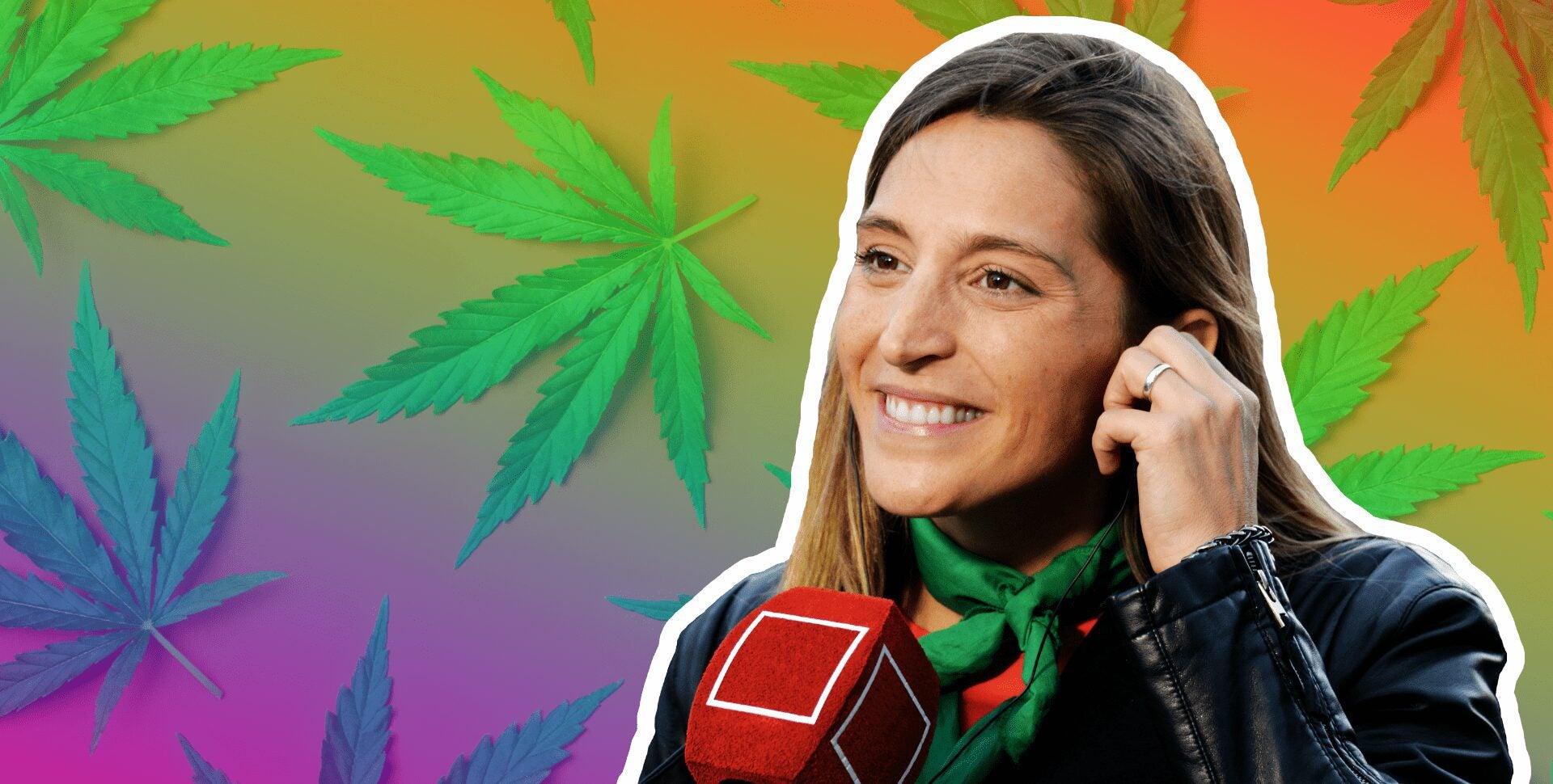 manuela castañeira marihuana