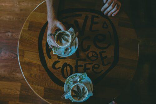 café marihuana