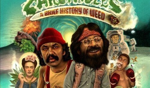 cheech chong comic marihuana